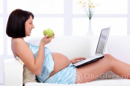 Какой вред от компьютера для беременных