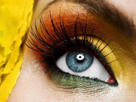 Ресницы глаз
