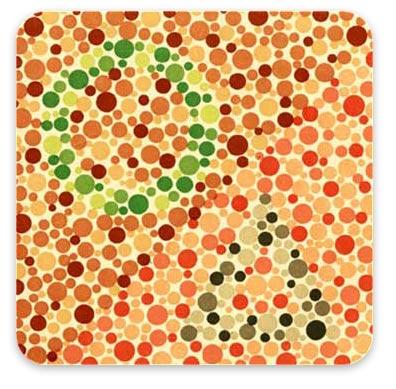 Тест на цветовосприятие (дальтонизм)