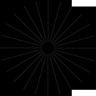 Изображение для теста на астигматизм
