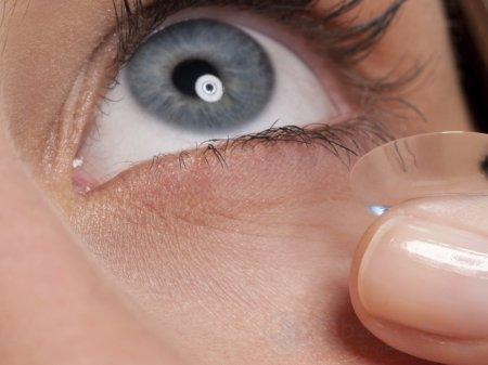 Мягкие контактные линзы