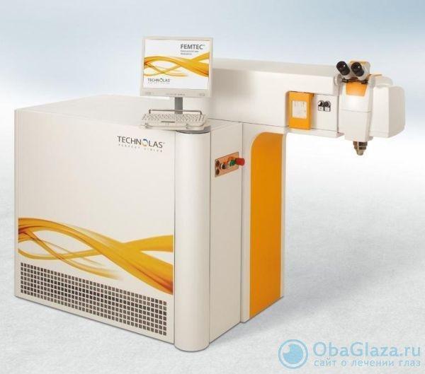 Фемтосекундный лазер Femtec производства компании Perfect Vision