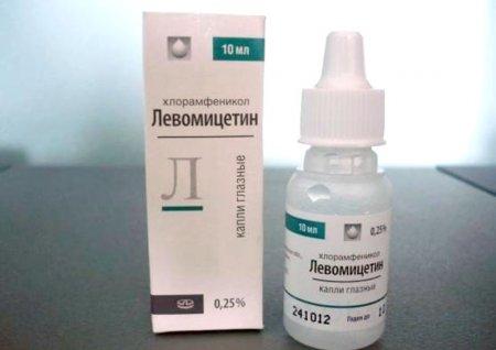 Свойства Левомицетина