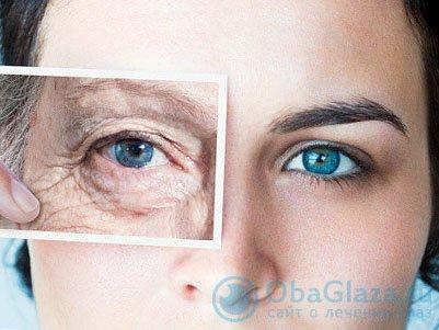 мешки под глазами у пожилых людей